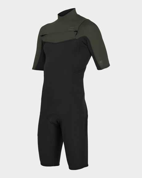 202 ABSOLUTE CHEST ZIP SHORT SLEEVE SPRING SUIT