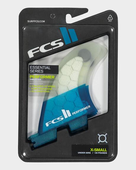 FCS II PERFORMER PC TRI XSMALL FINS