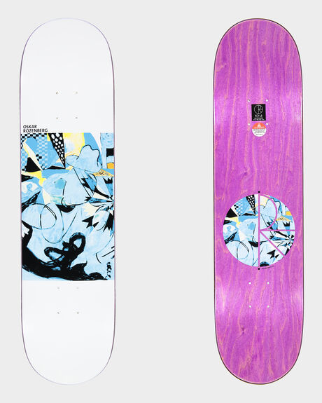 ROZENBERG ESCAPE ROUTE SKATEBOARD DECK