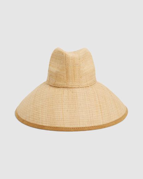 THROWIN SHADE STRAW HAT