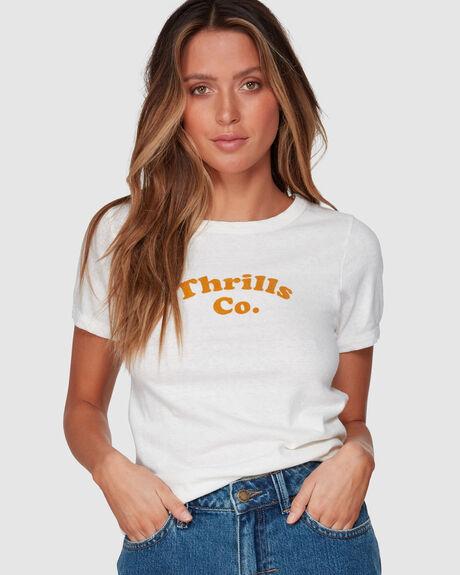 THRILLS ALLEY RETRO TEE - DIRTY WHITE