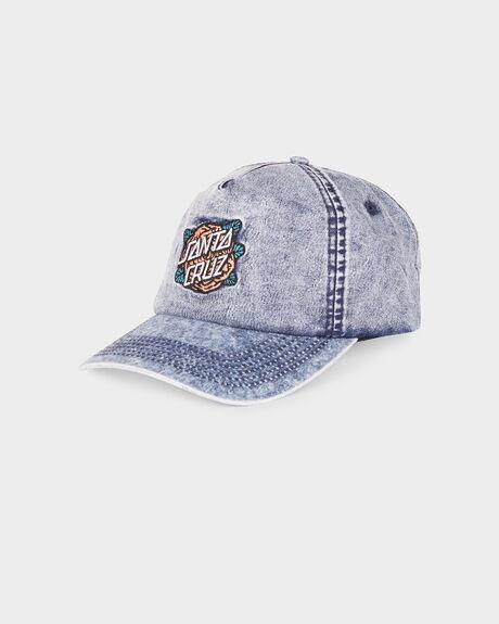 ROSE DOT DENIM CAP