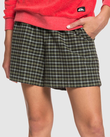 WOMENS ELASTICATED SHORTS