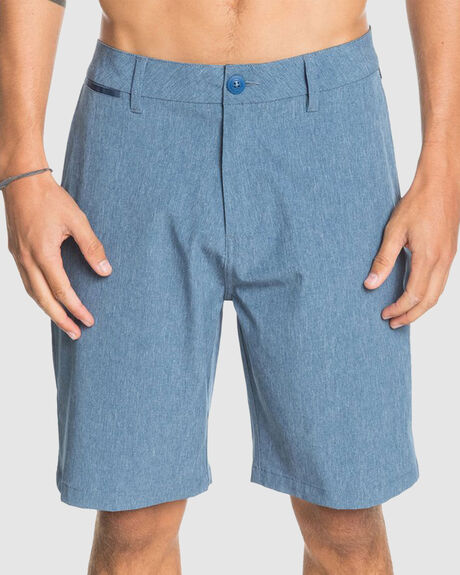 "MENS UNION HEATHER 19"" AMPHIBIAN BOARDSHORT"