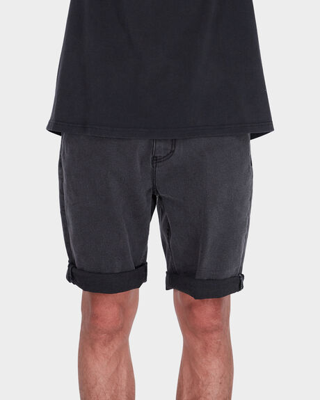VERSA DENIM ROLLUP SHORT