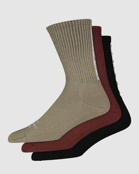 MINIMAL THRILLS STRIPE SOCK PACK
