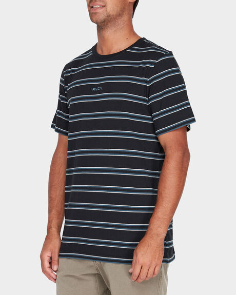 FOCUS STRIPE SHORT SLEEVE TEE
