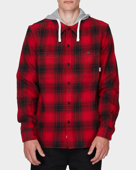 MILLER HOOD LONG SLEEVE SHIRT