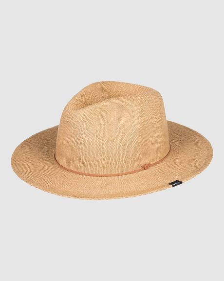 MENS CRUSHY CRUSHABLE STRAW HAT