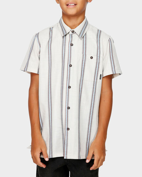 BOYS SUNDAY JACQUARD SS SHIRT