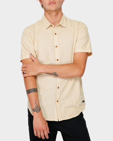 CRUSHED SHORT SLEEVE SHIRT