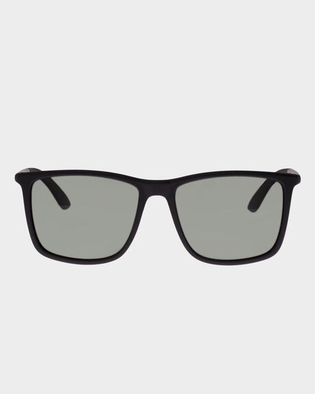 TWEEDLEDUM MATTE BLACK MODERN RECTANGLE