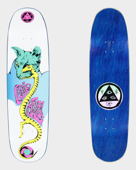 MILLER LIZARD EYE ON CATBLOOD SKATEBOARD DECK