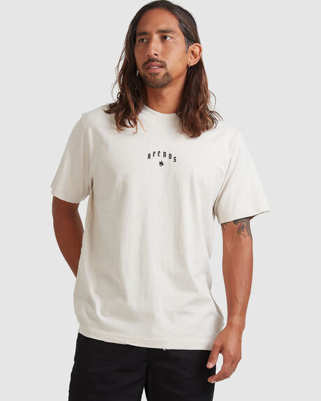 FICTION - RETRO FIT TEE - MOONBEAM