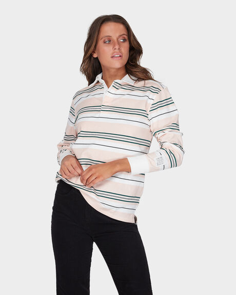 DOUBLE UP RUGBY LONG SLEEVE TOP