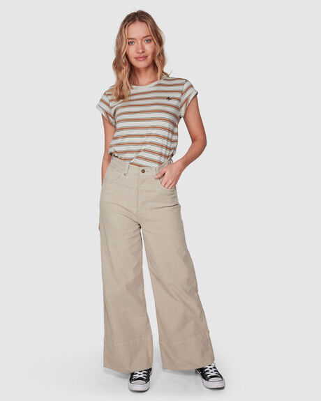 CANYON CORD PANT - DUSTY SAGE