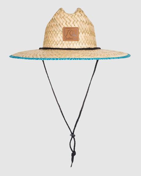 MENS OUTSIDER STRAW LIFEGUARD HAT