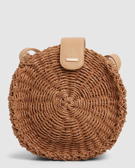 RUSTY VENICE STRAW BAG