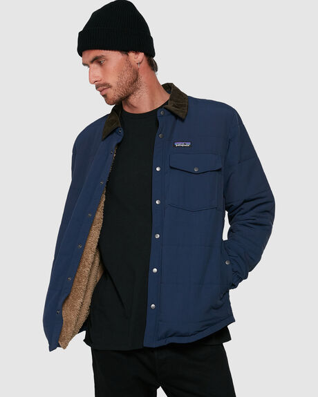 MENS ISTHMUS QUILTED SHIRT JACKET
