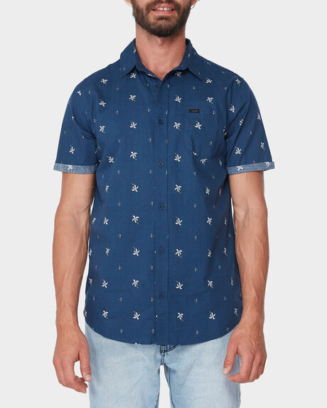 SPRING PALM SHORT SLEEVE SHIRT