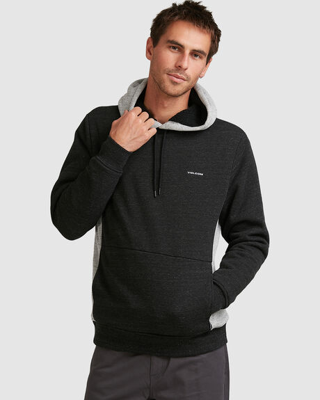 MENS SINGLE STONE LINED PULLOVER