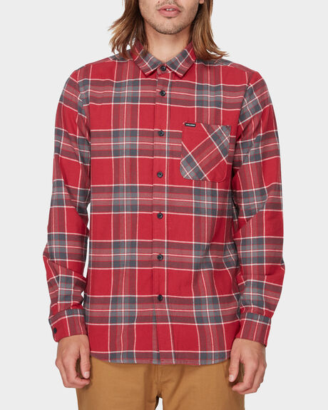 CADEN PLAID LONG SLEEVE SHIRT