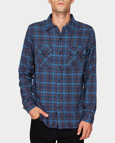 WALKER FLANNEL TOP  LONG SLEEVE SHIRT