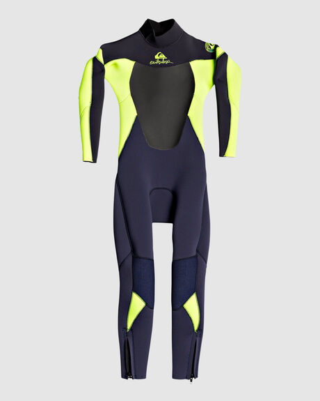 3/2MM SYNCRO - BACK ZIP GBS WETSUIT FOR BOYS 2-7