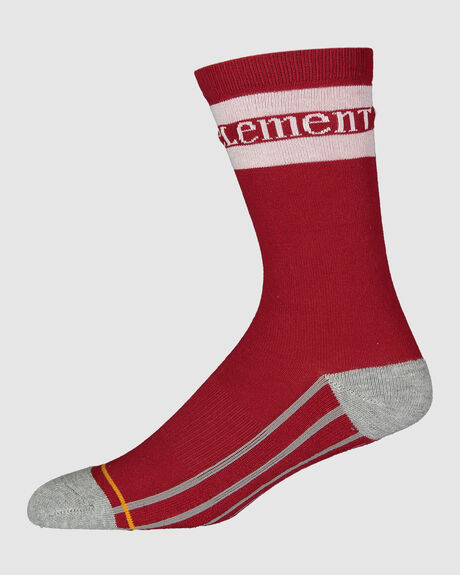 RED STRIPE SPORT SOCKS