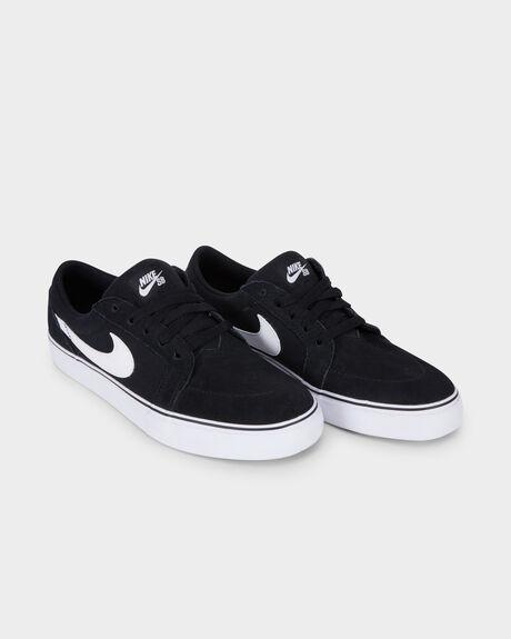 Black White Nike Sb Satire 1 5 Black White Shoe Surf Dive N Ski