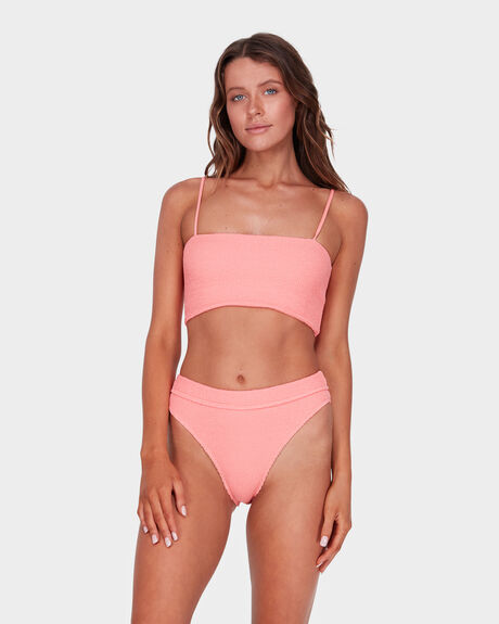 SUMMER HIGH BANDEAU TOP