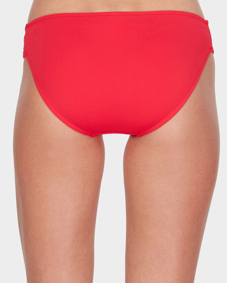 QUILTED HIPSTER BIKINI BOTTOM