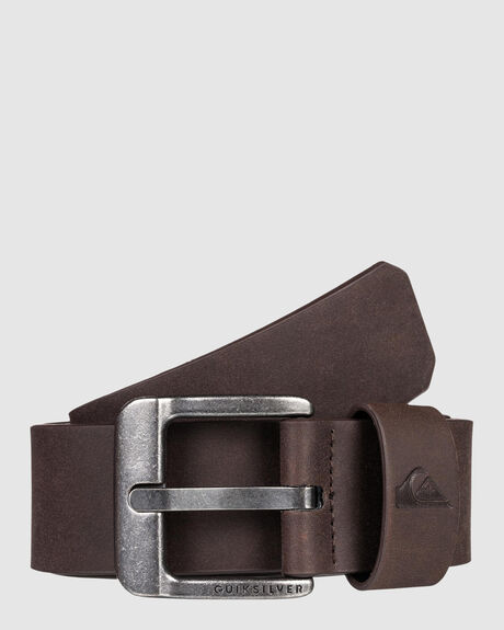 MENS MAIN STREET FAUX LEATHER BELT