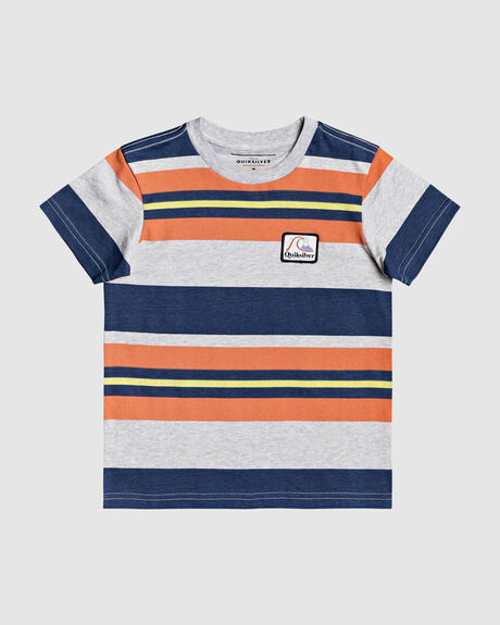 BOYS 2-7 SPAT OUT STRIPE T-SHIRT