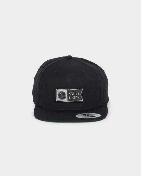 ALPHA STAMPED STRUCTURED CAP