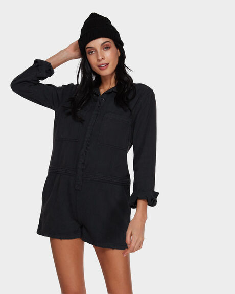 MILITARY LONG SLEEVE ROMPER