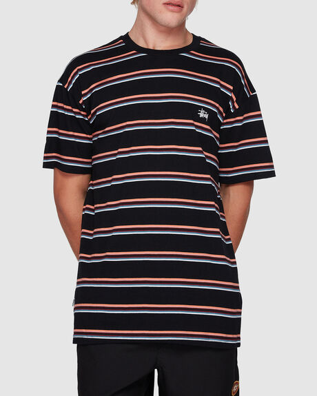 GRAFFITI YD STRIPE SHORT SLEEVE TEE