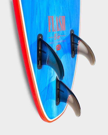 FLASH ERIC GEISELMAN FCS II 5'7 BLUE MARBLE BOARD