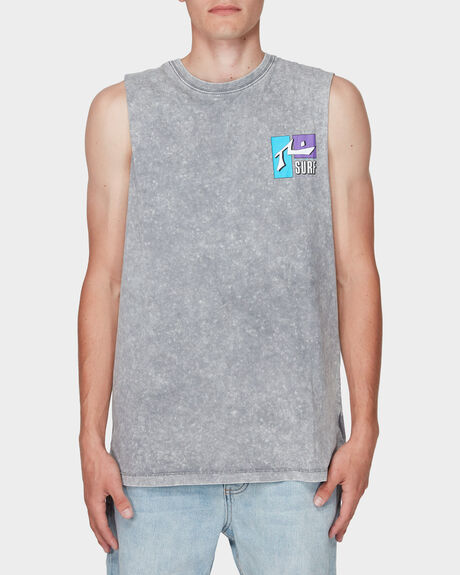 DEL MAR WASH MUSCLE TEE