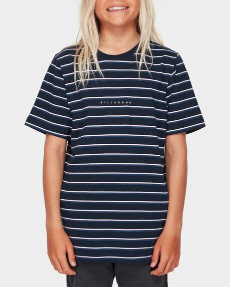 BOYS INDIE STRIPE TEE