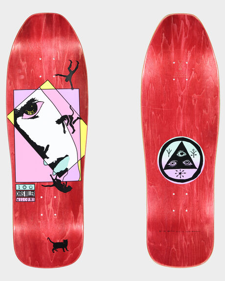 MILLER FACES ON SUGARCANE SKATEBOARD DECK