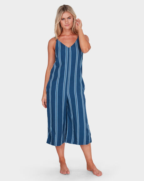 WAVELINE STRIPE JUMPSUIT