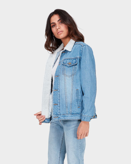 WHO ME DENIM JACKET