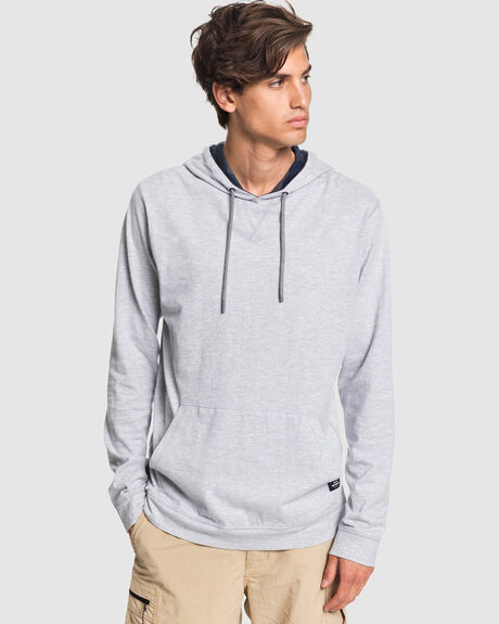 MENS WATERMAN PACIFIC CAMO SUSTAINABLE LONG SLEEVE HOODED TOP