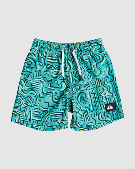 "TROPICAL BRUSH 12"" VOLLEY BOARDSHORTS"