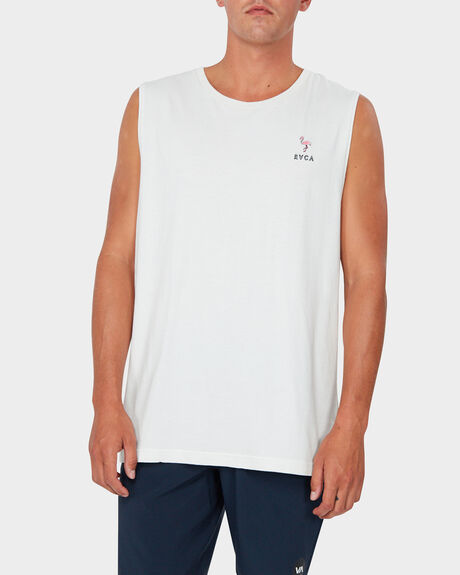 SLICE OF PARADISE MUSCLE TEE