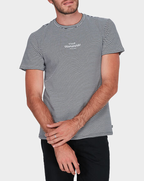 ROYALE SHORT SLEEVE STRIPE TEE