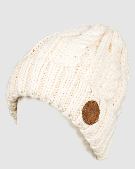 WOMENS TRAM CABLE KNIT BEANIE