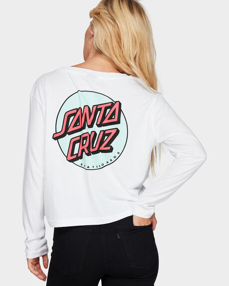 CONVERT LONG SLEEVE CROP TEE