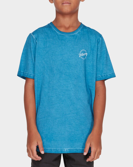 BOYS WAVE WASH EIGHT SIX TEE